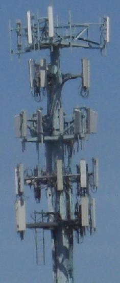 cell tower mast radiation